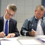 Podpisanie Porozumienia kończącego Spór Zbiorowy – 17.09.2018r.